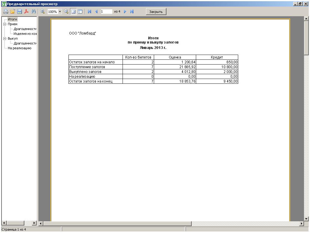 Схема начисления процентов